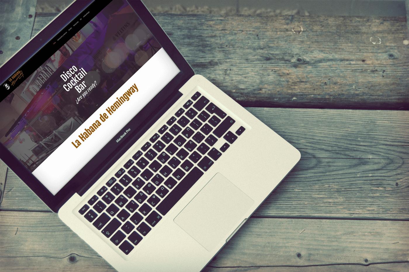 La Habana de Hemingway Diseño web