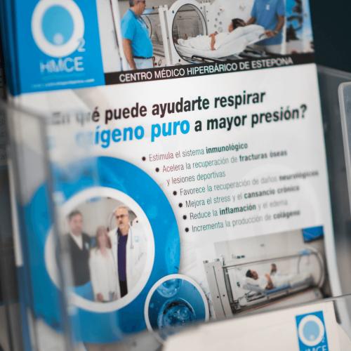 Centro Médico Hiperbárico Estepona Flyer