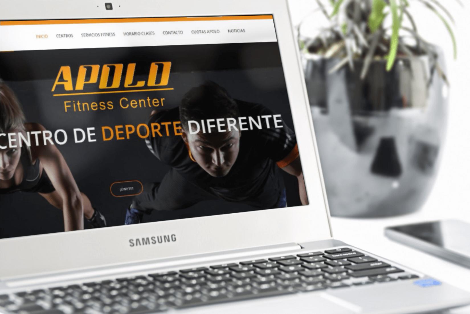 Diseño web para centro deportivo